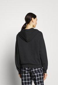Even&Odd - Zip-up sweatshirt - black - 2