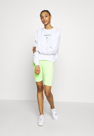 2 PACK - Shorts - electriclime/ black