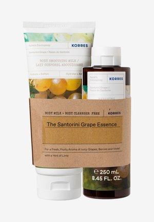 SANTORINI GRAPE BODY CARE SET - Bath and body set - -