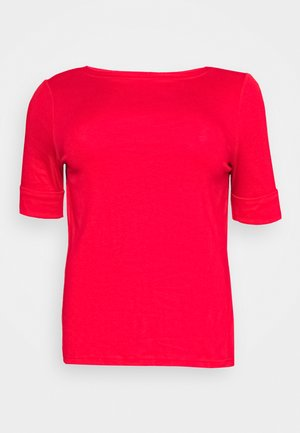 JUDY ELBOW SLEEVE - T-shirts basic - orient red