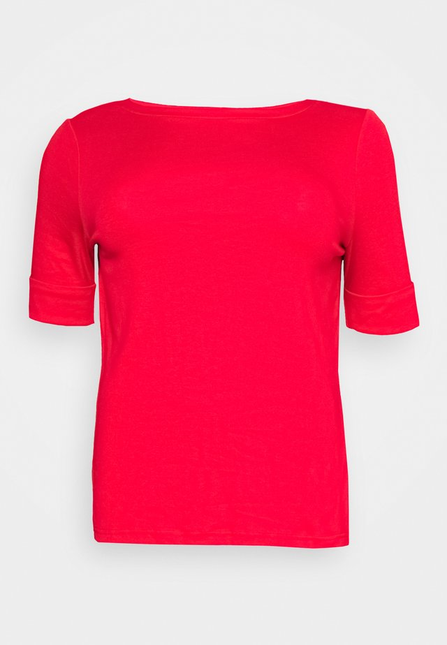 JUDY ELBOW SLEEVE - T-shirt basic - orient red