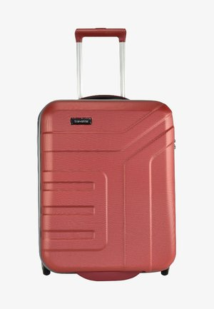 VECTOR - Wheeled suitcase - coral