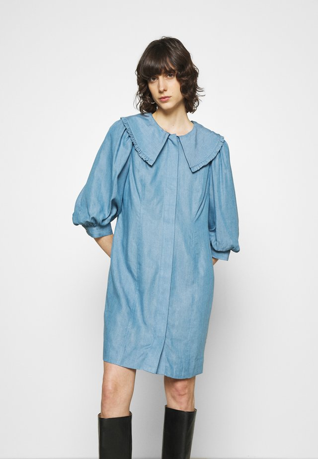 TEXAS DRESS - Robe chemise - light blue
