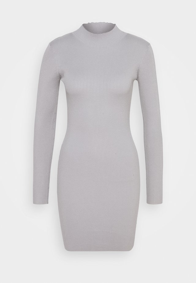 Gebreide jurk - grey