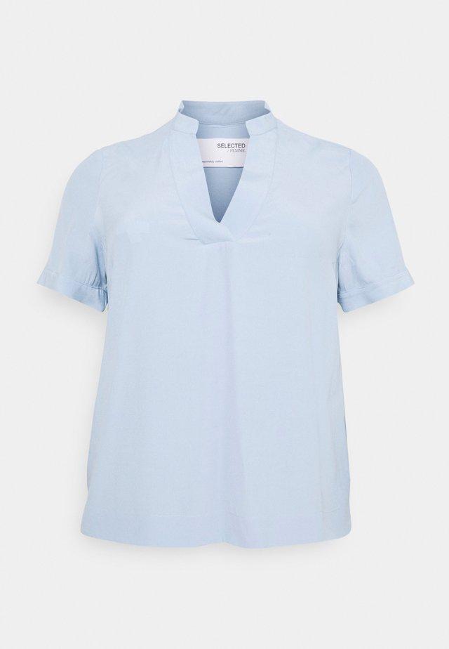 SLFALLA CURVE - Pusero - cashmere blue