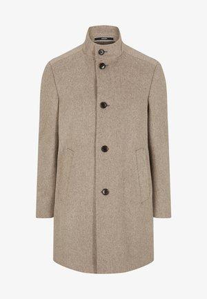 MARON - Classic coat - beige meliert