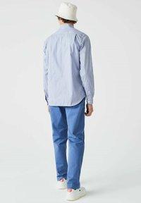 Lacoste - Shirt - blanc / bleu - 1