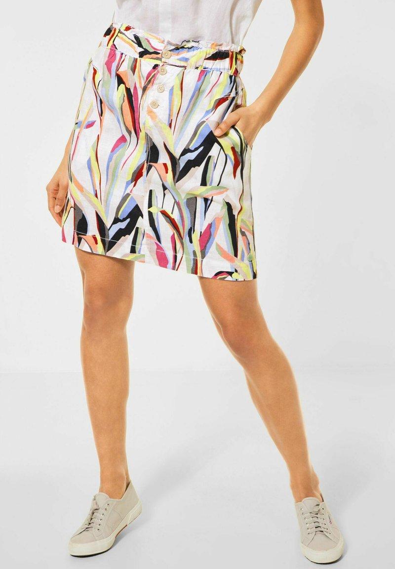 Street One - A-line skirt - weiß