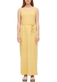 s.Oliver - Maxi dress - yellow melange - 3