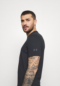 Under Armour - ROCK BRAHMA BULL - T-shirt print - black - 4