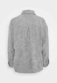 Moves - SAVISA - Button-down blouse - grey - 1
