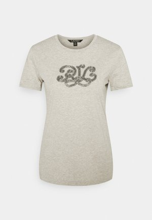 Camiseta estampada - farro heather