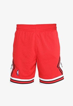SWINGMAN SHORTS CHICAGO BULLS - Sports shorts - red/white
