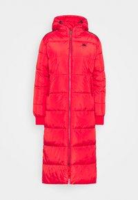 JUDITH  - Zimní kabát - racing red