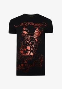 Ed Hardy - DEATH-GLORY T-SHIRT - Print T-shirt - black - 3