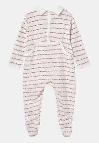 Petit Bateau - DORS BIEN PONT DOS - Sleep suit - marshmallow/terkuit - 1