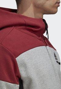 adidas Performance - Zip-up hoodie - grey - 6