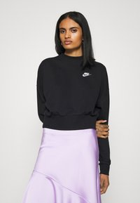 Nike Sportswear - MOCK - Sweatshirt - black/white - 0