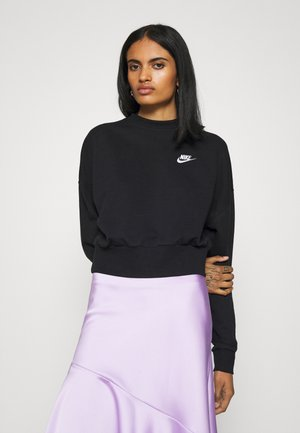 MOCK - Sweatshirt - black/white