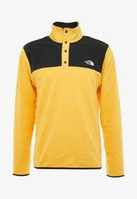 The North Face - GLACIER SNAP-NECK  - Bluza z polaru - yellow/black - 4