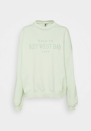 OVERSIZE EXPRESSION - Sweater - mint