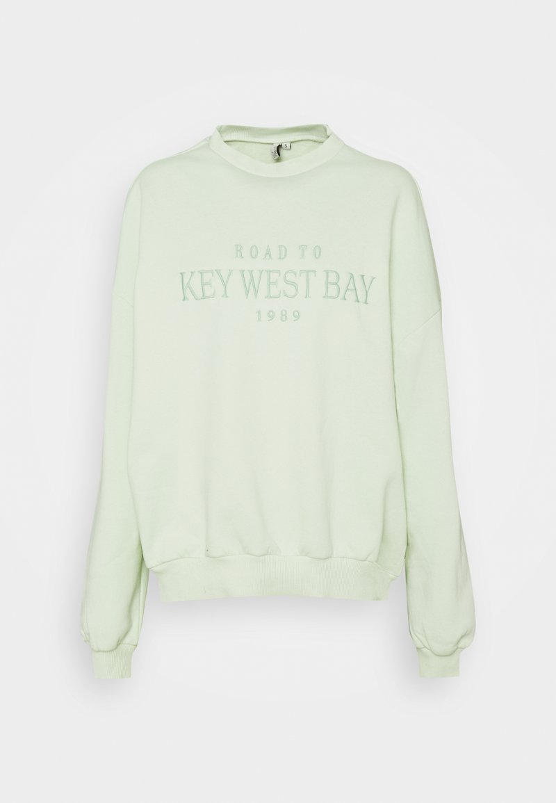 Nly by Nelly - OVERSIZE EXPRESSION - Sweatshirt - mint