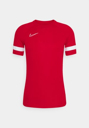 T-Shirt print - university red/white