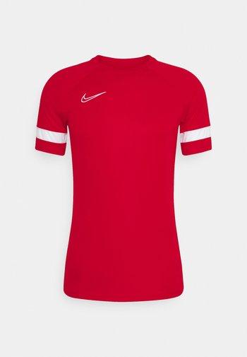 ACADEMY 21 - Camiseta estampada - university red/white