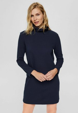 RELAXED FIT - Shift dress - navy