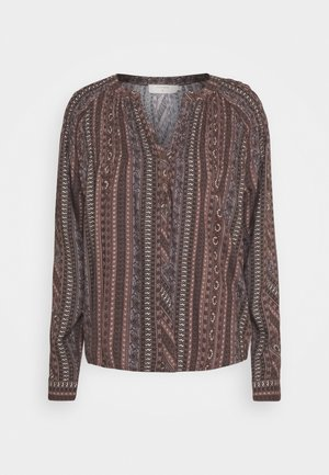FIORELLA BLOUSE - Blouse - brown