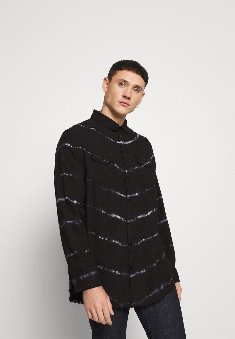 Be Edgy - BEACTON - Shirt - black batic