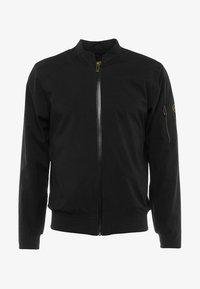 Cross Sportswear - BOMBER JACKET - Kurtka przeciwdeszczowa - black - 4