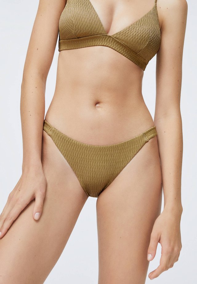 Dół od bikini - gold