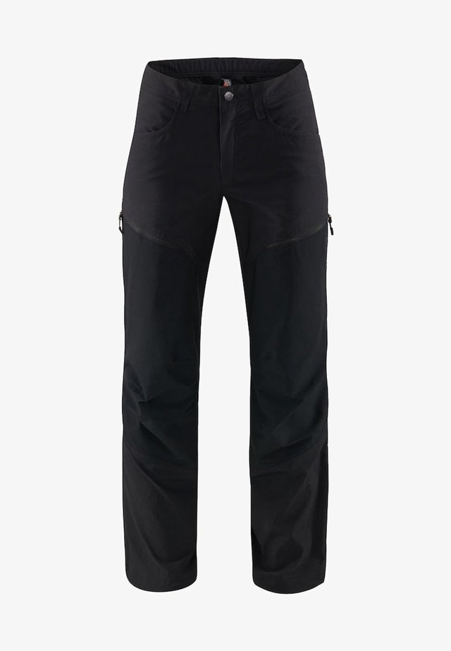 MID FLEX PANT - Friluftsbyxor - true black solid short