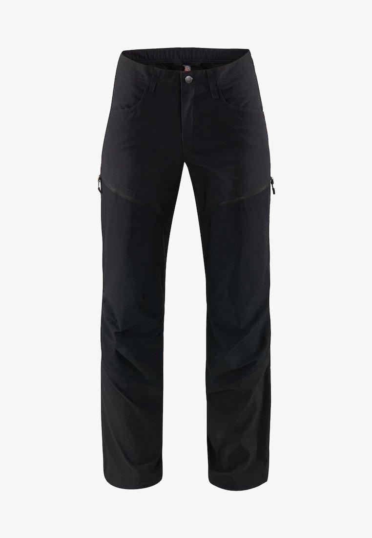 Haglöfs - MID FLEX PANT - Friluftsbyxor - true black solid short