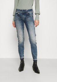 G-Star - LYNN MID SKINNY RP ANKLE WMN - Jeans Skinny Fit - antic faded kyanite - 0