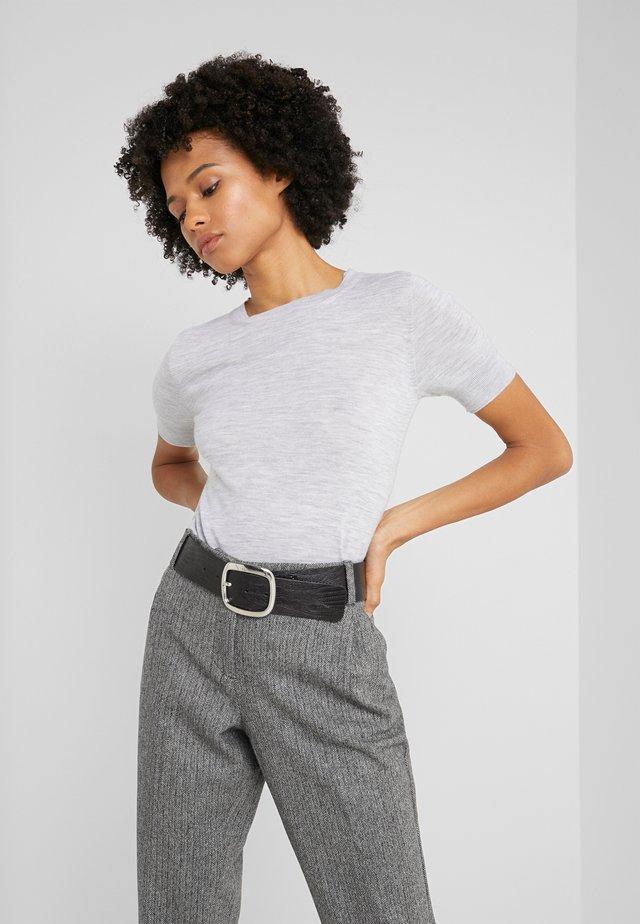 MARIA - T-shirt basic - silver