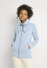 Ragwear - RYLIE MARINA ZIP - Mikina na zip - light blue - 0