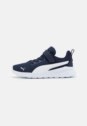 ANZARUN LITE AC UNISEX - Neutral running shoes - peacoat/white