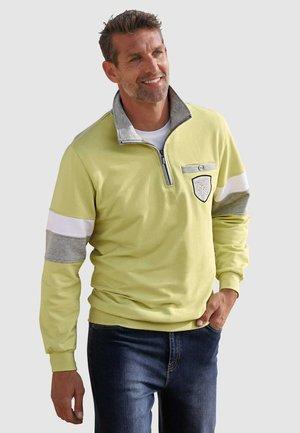 Sweatshirt - limettengrün
