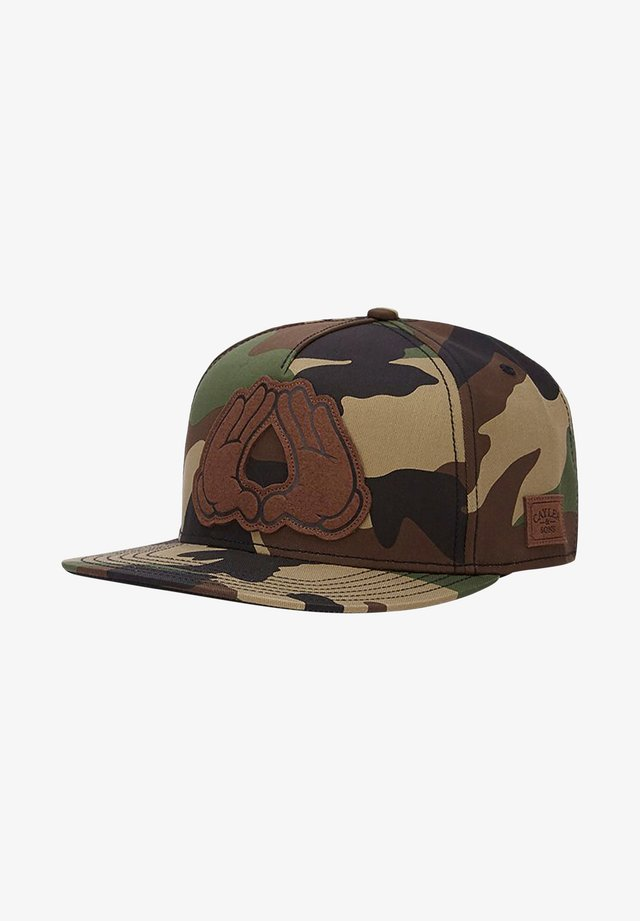 WL DYNASTY LUX - Gorra - woodland/black