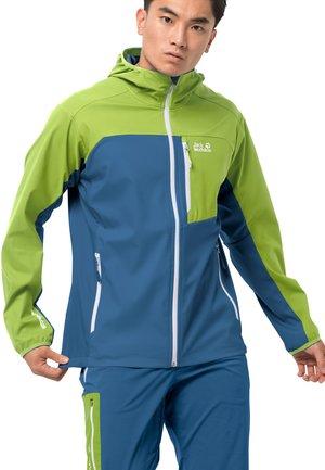 EAGLE PEAK - Soft shell jacket - indigo blue