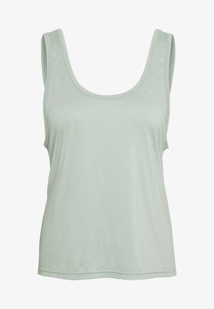 TWIST BACK TANK - Top - aloe
