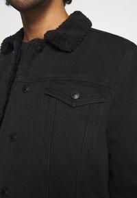 AllSaints - ALDER JACKET - Denim jacket - black - 7