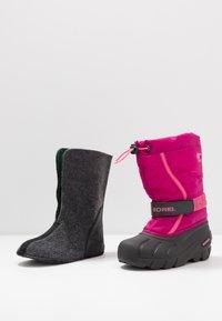 Sorel - YOUTH FLURRY - Snowboot/Winterstiefel - deep blush/tropic pink - 6