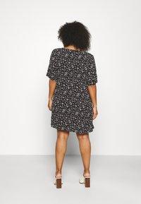 Zizzi - FLORA - Day dress - black - 2