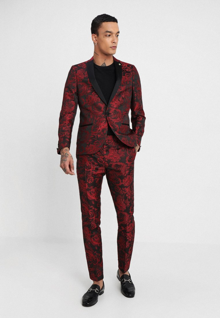 Twisted Tailor - ERSAT SUIT SLIM FIT - Costume - black