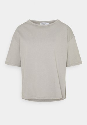 BOXY TEE - Basic T-shirt - grey