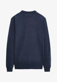 Massimo Dutti - MIT KONTRASTDETAIL - Sweatshirt - blue - 0
