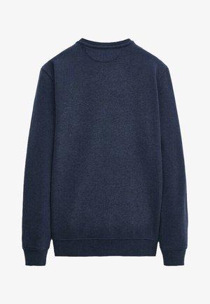 MIT KONTRASTDETAIL - Sweatshirt - blue